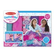 Melissa & Doug Created by Me Flower Fleece Quilt