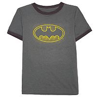 Boys 4-7 DC Comics Batman Logo Graphic Tee