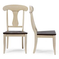 Baxton Studio Napoleon Dining Chair 2-piece Set