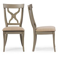 Baxton Studio Balmoral Dining Chair 2-piece Set
