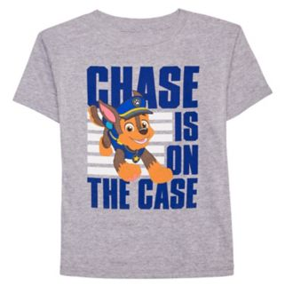 "Boys 4-7 Paw Patrol ""Chase Is On The Case"" Graphic Tee"