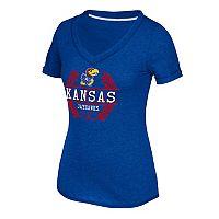 Women's adidas Kansas Jayhawks Laural Tee