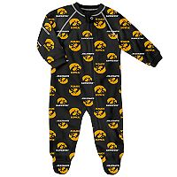 Baby Iowa Hawkeyes Team Logo Coverall