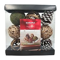 SONOMA Goods for Life™ Rustic Pine Cone Vase Filler 9-piece Set