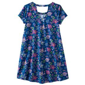 Girls 7-16 & Plus Size SO® Bar Back Swing Dress