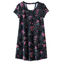 Girls 7-16 & Plus Size SO® Bar Back Swing Dress