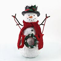 St. Nicholas Square® Light-Up Snowman Table Decor