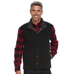 Men's Croft & Barrow® Outdoor Quilted Vest