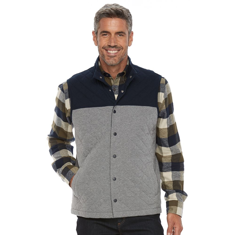 Croft & Barrow® Outdoor Quilted Vest : croft and barrow quilted vest - Adamdwight.com