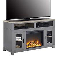 Ameriwood Carver Electric Fireplace TV Stand