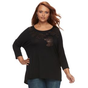 Plus Size Apt. 9® Embellished Tunic