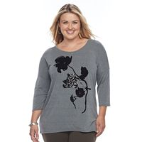 Plus Size Apt. 9® Embellished Tunic