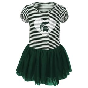 Toddler Michigan State Spartans Celebration Dress