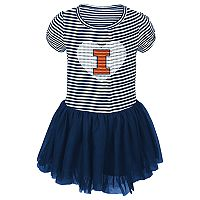Toddler Illinois Fighting Illini Celebration Dress