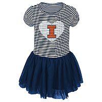 Toddler Illinois Fighting Illini Celebration Dress