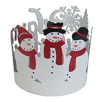 SONOMA Goods for Life™ Large Snowmen Candle Jar Holder