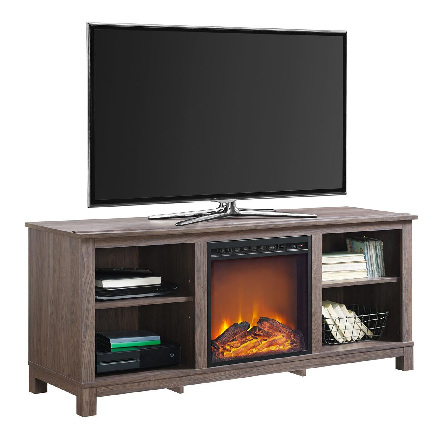 Altra Edgewood Electric Fireplace TV Stand Part 64