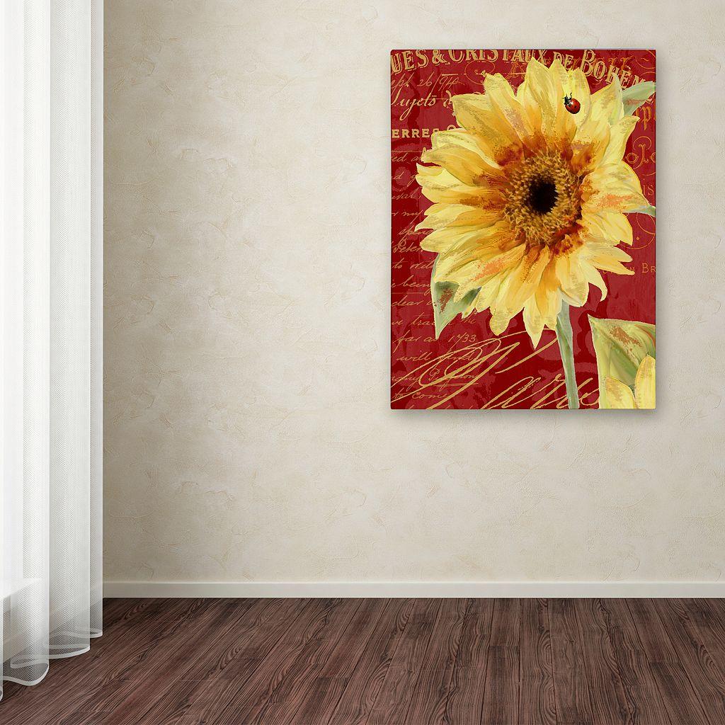 Trademark Fine Art Ladybug Canvas Wall Art