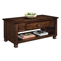 Altra San Antonio 1-Drawer Coffee Table