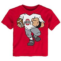 Toddler Ohio State Buckeyes Football Dreams Tee