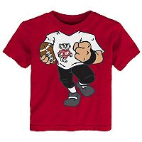 Toddler Wisconsin Badgers Football Dreams Tee