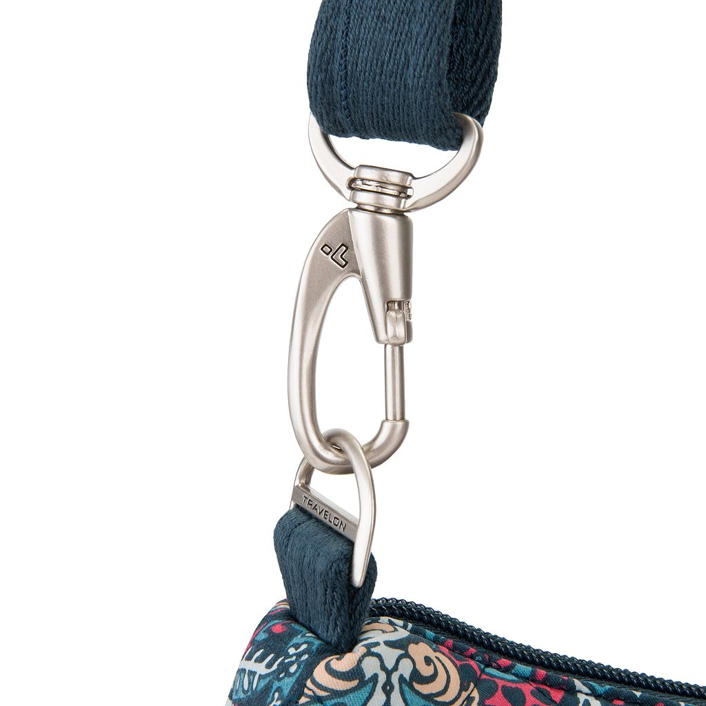 Travelon Anti-Theft Boho Square Crossbody Bag