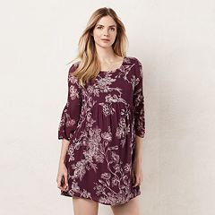 Maternity LC Lauren Conrad Shirred Shift Dress