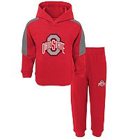 Baby Ohio State Buckeyes Fullback Fleece Hoodie & Sweatpants Set
