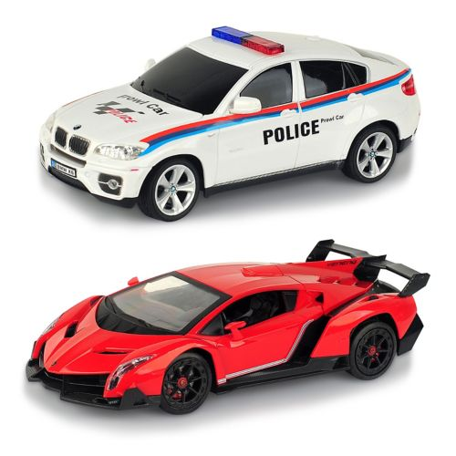 Braha 1:24 Remote Control Full-Function Sports Cars ... Lamborghini Vs Bmw