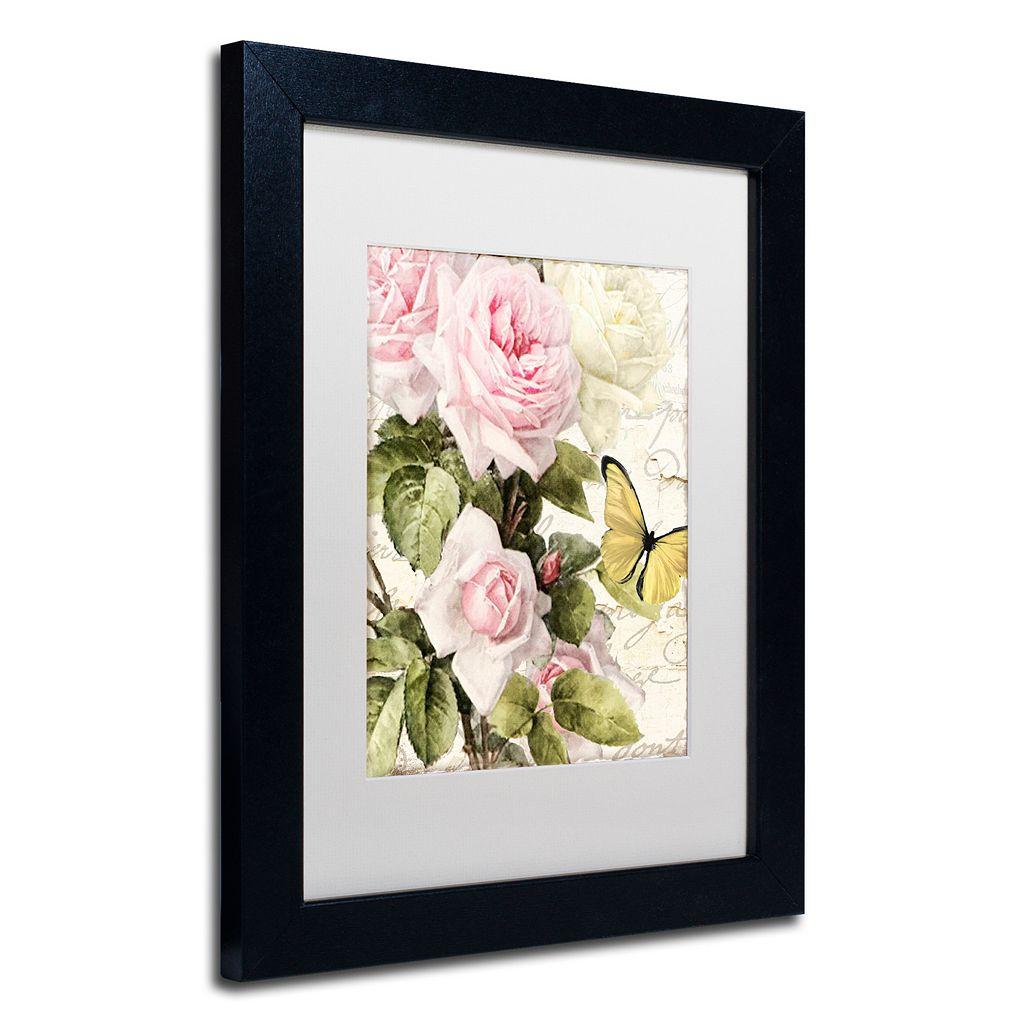 Trademark Fine Art Flora Bella Black Framed Wall Art