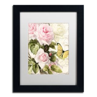 Trademark Fine Art Flora Bella Black Framed Wall Art