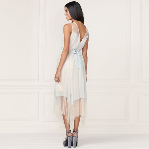 LC Lauren Conrad Runway Collection Layered Tulle Midi Dress - Women's