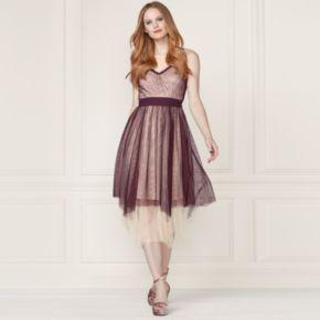 LC Lauren Conrad Runway Collection Layered Tulle Midi Dress - Women's