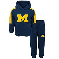 Toddler Michigan Wolverines Fullback Fleece Hoodie & Sweatpants Set