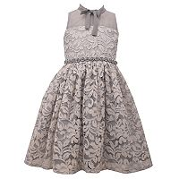 Girls 7-16 Bonnie Jean Lace Illusion Dress