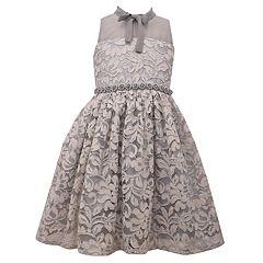 Girls 7-16 Bonnie Jean Lace Illusion Dress