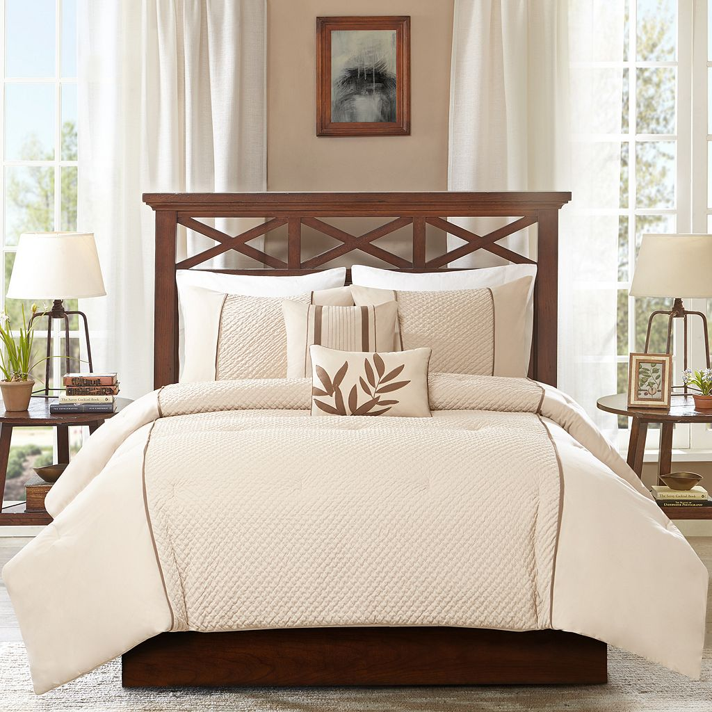 Madison Park 5-piece Marilyn Comforter Set