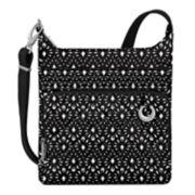 Travelon Anti-Theft Boho North-South Crossbody Bag