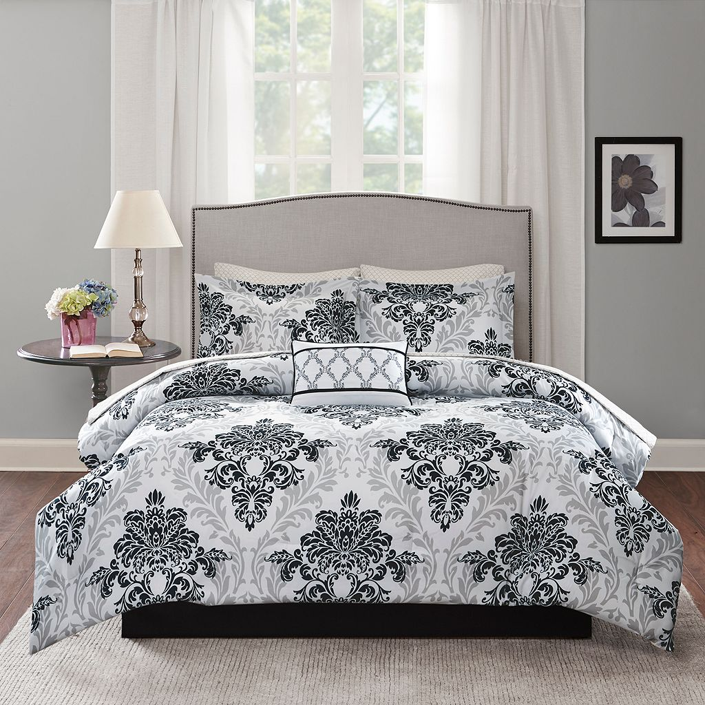 Madison Park Essentials 7-piece Hayley Comforter Set
