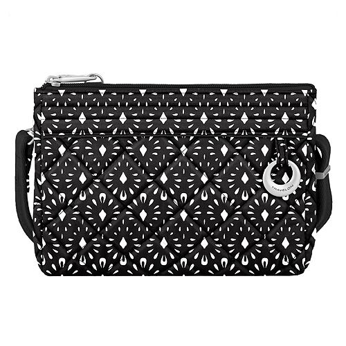 Travelon Anti-Theft Boho Clutch Crossbody Bag