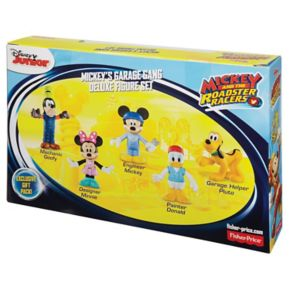 Disney's Mickey Mouse & the Roadster Racers Mickey's Garage Gang by Fisher-Price