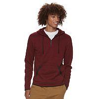 Men's Urban Pipeline® Quarter-Zip Pullover Sweater Fleece Hoodie