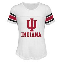 Girls 7-16 Indiana Hoosiers Team Pride Burnout Tee