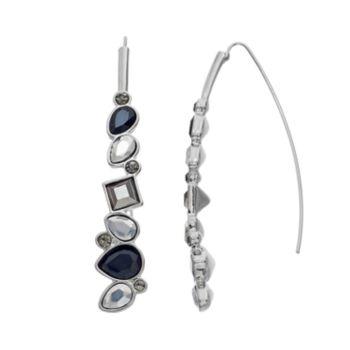 Simply Vera Vera Wang Geometric Stone Threader Earrings