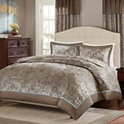 Madison Park 3 pc Elsa Jacquard Duvet Cover Set