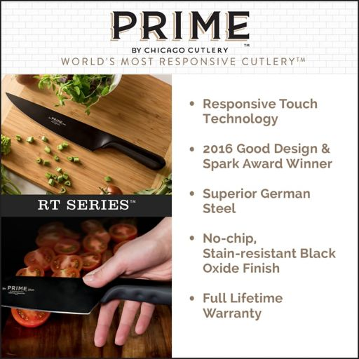 Prime by Chicago Cutlery 8-in. Chef Knife