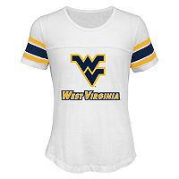 Girls 7-16 West Virginia Mountaineers Team Pride Burnout Tee
