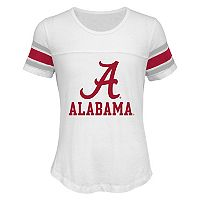 Girls 7-16 Alabama Crimson Tide Team Pride Burnout Tee