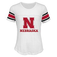 Girls 7-16 Nebraska Cornhuskers Team Pride Burnout Tee