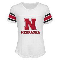 Girls 7-16 Nebraska Cornhuskers Team Pride Burnout Tee